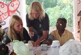 Gezondheidszorg jongerenreizen in de zomervakantie: Sri Lanka