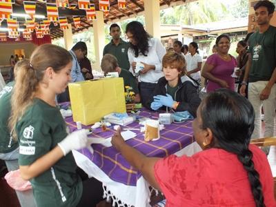 Jongerenreizen gezondheidszorg Sri Lanka