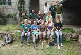 Zet je samen met internationale vrijwilligers in voor het behoud van de natuur in Kenia.