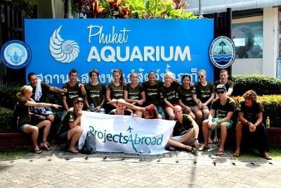 Jongerenreis natuurbehoud project in Thailand