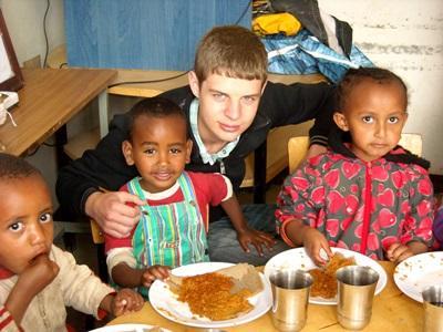 Taalcursus en sociaal project Ethiopië