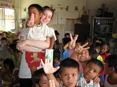 Jongerenreis sociaal project Cambodja
