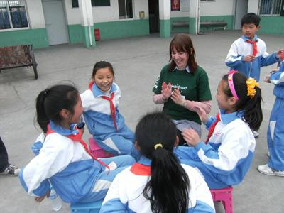 Sociale groepsreis in China