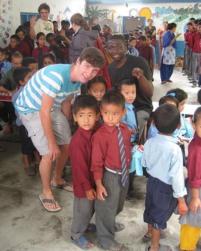 Jongerenreis sociaal project Nepal