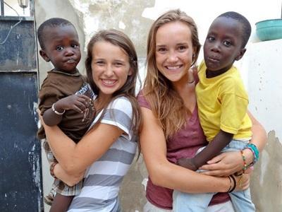 Werk met kinderen in Senegal