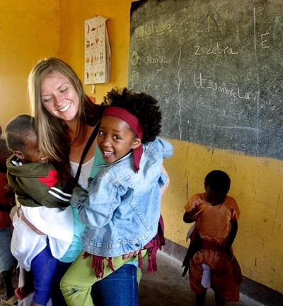 Jongerenreis sociaal project Tanzania
