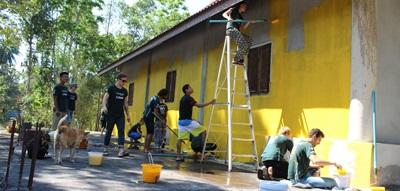 Werken als vrijwilliger in ontwikkelingslanden