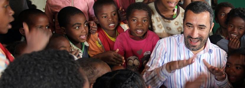 Projects Abroad vrijwilliger tijdens sabbatical bij lesgeefproject in Madagaskar.