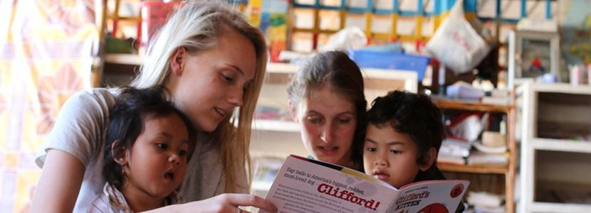 Vrijwilligerswerk in het buitenland voor jongeren