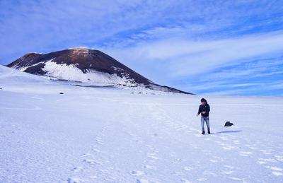 Beklim als Projects Abroad vrijwilliger in je vrije tijd de beroemde vulkaan Etna