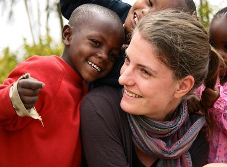 Vrijwilligerswerk in Kenia.