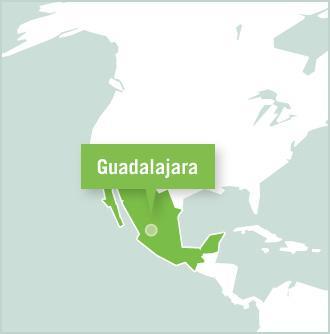 Kaart van Mexico