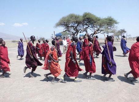 Masaai cultuur in Tanzania