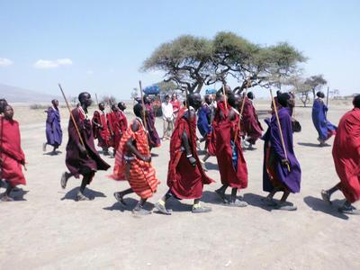 Ontmoet de Maasai tijdens je verblijf als vrijwilliger in Tanzania