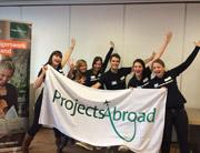 informatiemarkt medewerkers projects abroad