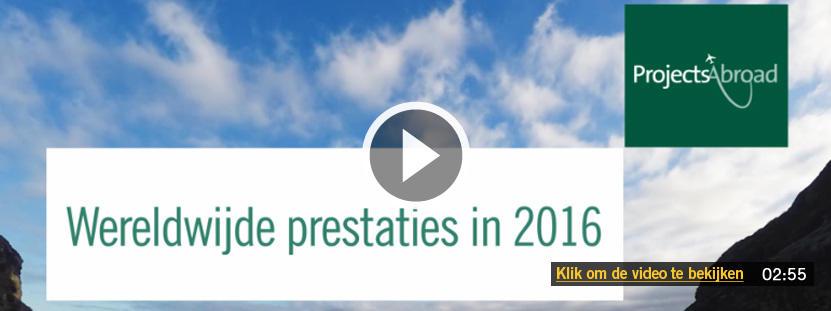 Wereldwijde prestaties in 2016