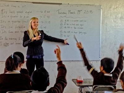 Stage lesgeven onderwijs buitenland