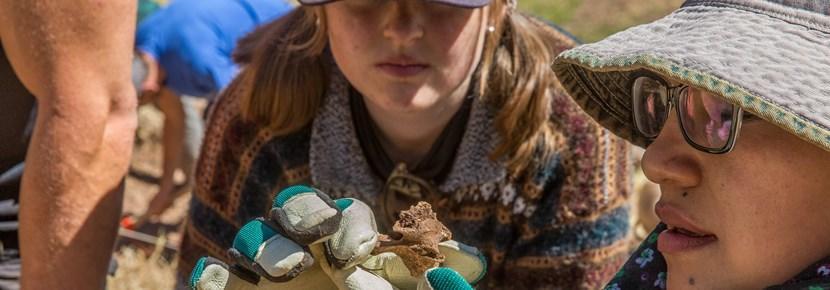 Vrijwilligerswerk bij een archeologie project in het buitenland in een unieke kennismaking met het vak.