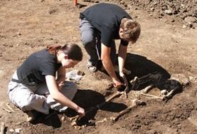 Help mee bij het doen van opgravingen tijdens het archeologie project voor vrijwilligers in Roemenië.