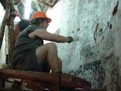 Archeologisch project in Peru
