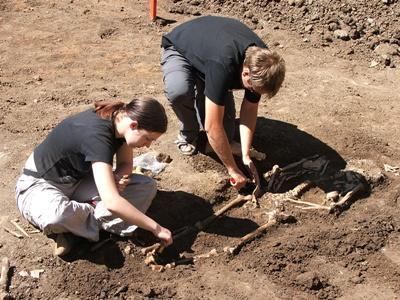 Archeologisch project in Roemenië