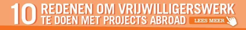 10 redenen voor vrijwilligerswerk in het buitenland met Projects Abroad