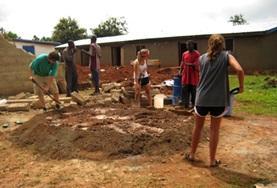 Bouw projecten in het buitenland: Ghana
