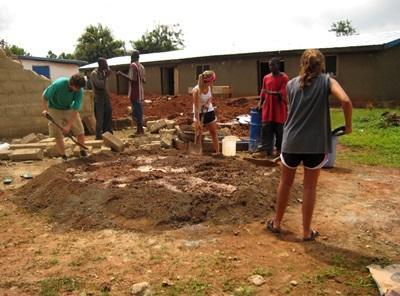 Vrijwilligerswerk bouw project in Ghana