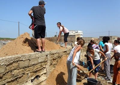 Vrijwilligerswerk Senegal bouwen