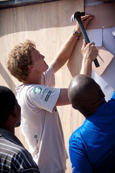 Bouw project in Zuid-Afrika