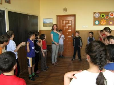 Drama project in Roemenië