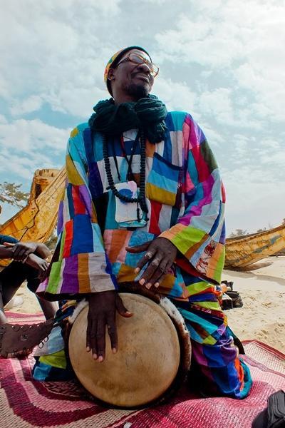Muziek en cultuur project in Senegal