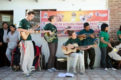 Muziek maken in Bolivia