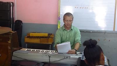 Vrijwilligerswerk muziek project in Jamaica