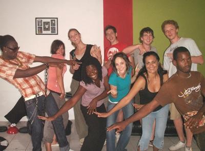 Muziek project in Jamaica