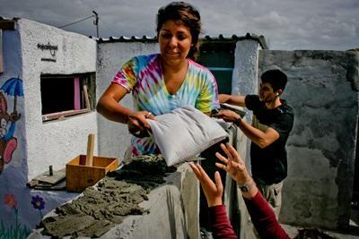 Vrijwilligerswerk community township project Zuid-Afrika