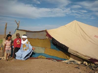 Nomaden project in Marokko