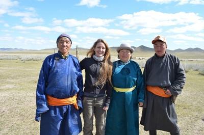 Vrijwilligerswerk nomaden project in Mongolië