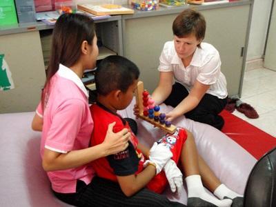 Vrijwilligerswerk ergotherapie project in Cambodja