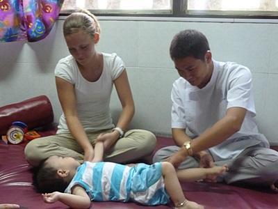 Vrijwilligerswerk ergotherapie project in Vietnam