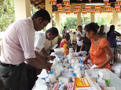 Doe vrijwilligerswerk op het farmacie project in Sri Lanka en leer meer over gezondheidzorg in het buitenland.