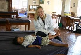 Gezondheidszorg vrijwilligerswerk in het buitenland: Fysiotherapie project