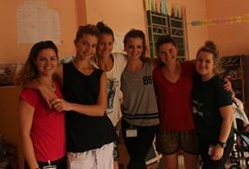 Op het fysiotherapie project in Cambodja werk je samen met vrijwilligers van over de hele wereld.