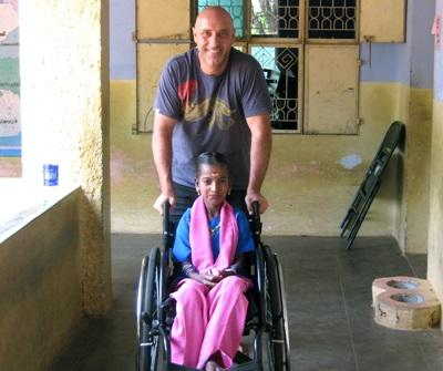 Vrijwilligerswerk fysiotherapie project in India