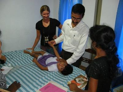 Vrijwilligerswerk fysiotherapie project in Sri Lanka
