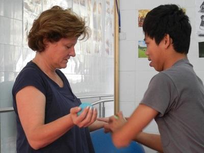 Vrijwilligerswerk fysiotherapie project in Vietnam
