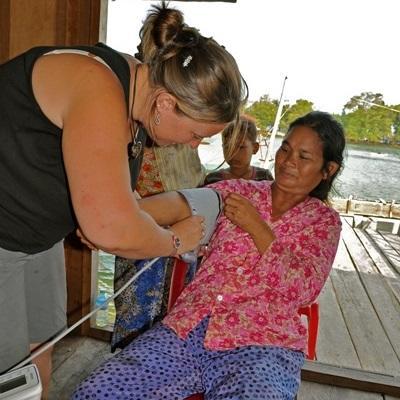 Vrijwilligerswerk geneeskunde project in Cambodja