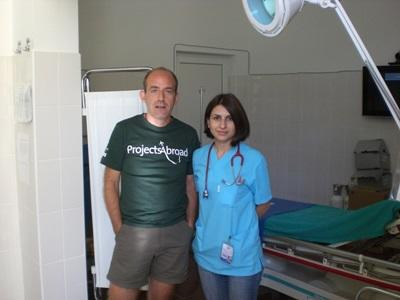 Vrijwilligerswerk geneeskunde project in Roemenië