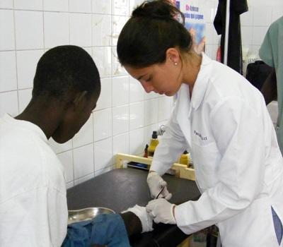 Vrijwilligerswerk geneeskunde project in Senegal