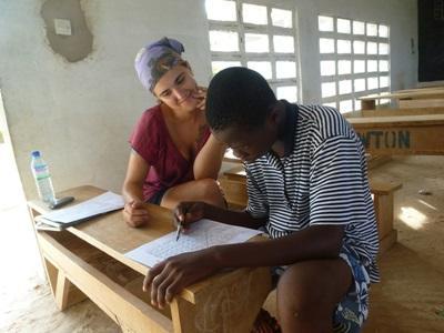 Vrijwilligerswerk logopedie project in Togo